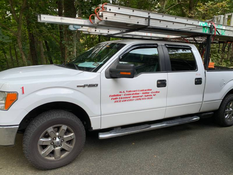 Work Truck Lettering From Michael V Nh