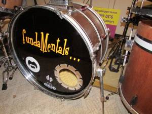 Kick Drum Lettering from David G, FL