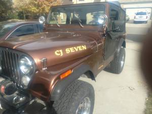 1986 Jeep CJ 7 Lettering from Doug R, CO