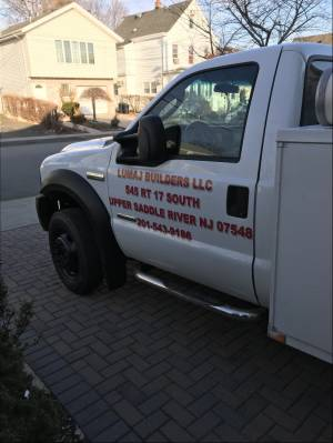 2007 Ford f450 Truck Lettering from Mike L, NJ