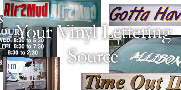 Your Vinyl Lettering Source