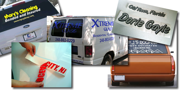 Vinyl Lettering for Vehicles